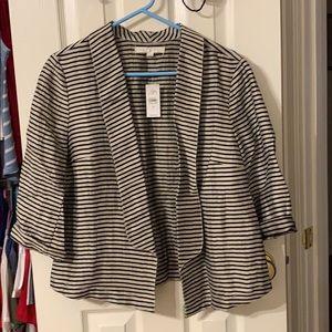 Simple linen blazer